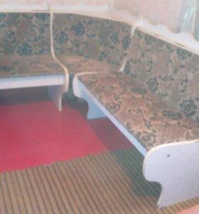 диван угловой для кухни