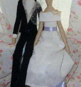 Кукла Тильда - невеста