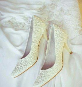 Свадебные туфли рр 39