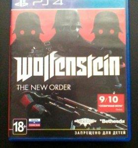"""Wolfenstein""""the new order"""" PS4"""