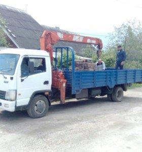 Услуги Манипулятора, перевозка грузов