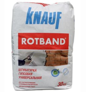 Ротбанд Knauf штукатурка гипсовая 30кг