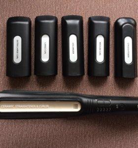 Плойка для волос(Panasonic)+5 насадок