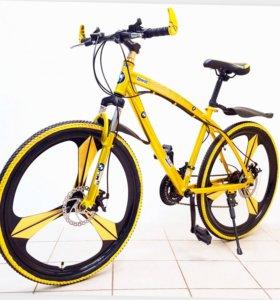 Велосипед Крутой BmwБмв на дисках