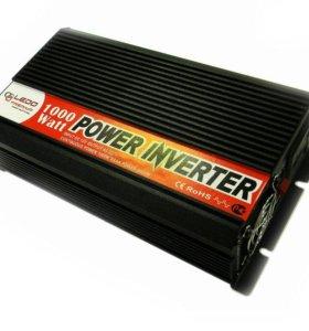 Инвертор 1000 Вт 12В/220В Ledo Premium