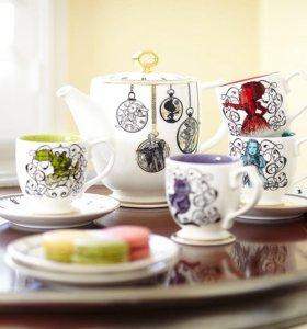 Чайный набор «Алиса в Зазеркалье» Disney store