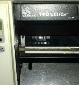 Принтер Zebra 140xi3plus