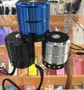 Bluetooth колонка WS-887 Блеск Чехол