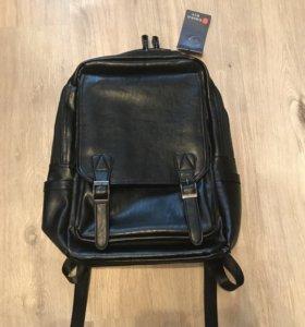 новый мужской рюкзак (кожзам)