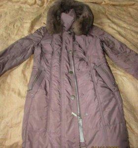 Пуховое пальто (пуховик)