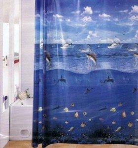 Штора для ванной комнаты 180*180см