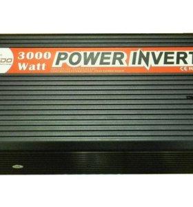 Автомобильный инвертор Ledo Premium 3000W.12-220V