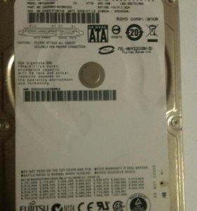 """HDD 200 GB, 2,5"""""""
