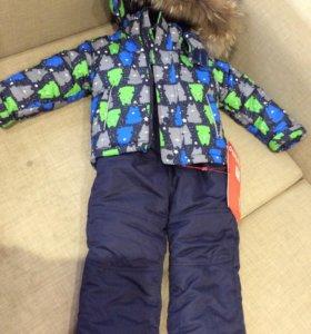 Зимняя куртка и штаны/зимний комбинезон