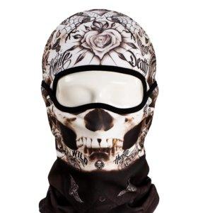 Балаклава череп и др маска подшлемник бандана бафф
