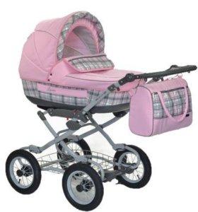 Новая детская коляска 2 в 1 Jetem Laura