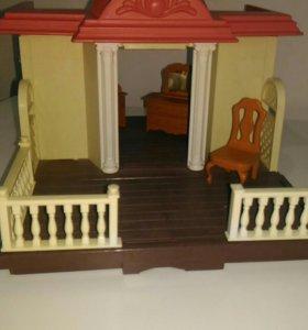 Домик с мебелью,семья в подарок