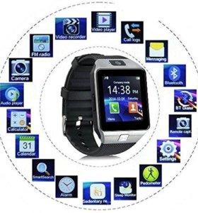 Умные часы и по сути полноценный мобильный телефон
