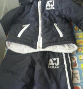 Детский зимний Армани