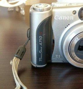 Фотоаппарат canon A710
