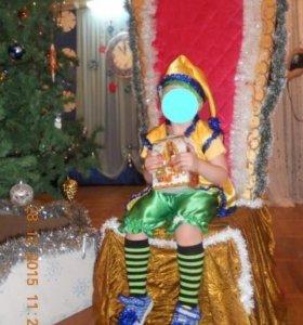 Новогодний костюм Гномика