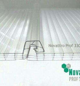 Замковые панели Novattro из поликарбоната