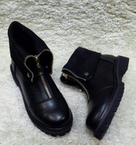 Новые зимние ботинки, последний размер