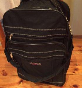 Дорожная сумка-чемодан- рюкзак