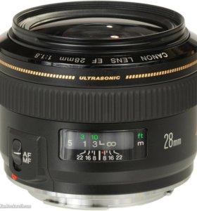 Canon 28 1.8 usm Отличное состояние