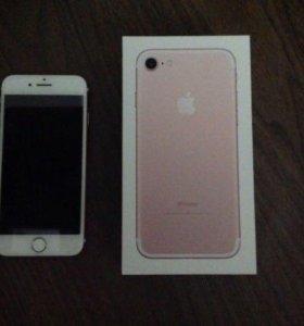Iphone 7 розовый 32гб