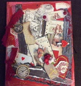 Блокнот ручной работы handmade хэндмейд подарок