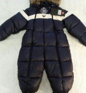 Зимний детский комбинезон GA (новые)