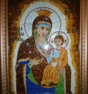 Репродукции на иконы из цветного стекла