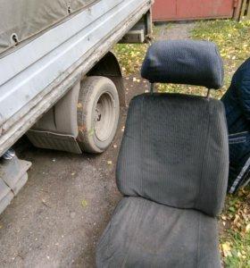 Сиденье водителя газель