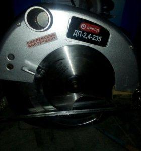 Пила ручная электрическая дисковая