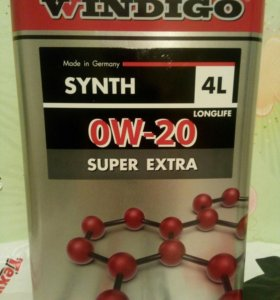 WINDIGO SYNTH 0W-20 SUPER EXTRA
