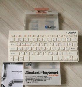 Клавиатура Canyon CNA-BTKB01W-RU White Bluetooth