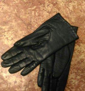 Перчатки женские 7-7,5 натуральная кожа зимние