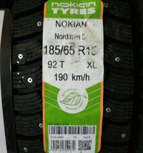 Шины nokian nordman 5 185/65 r15