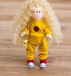 Кукла интерьерная. Ручной работы