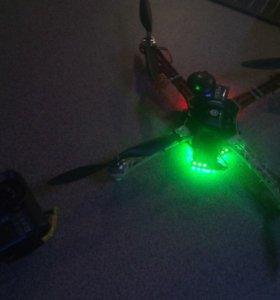 Квадрокоптер на раме Dji f450