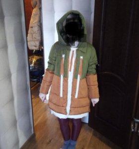 Куртка зимняя трансформер/можно для беременных 44р