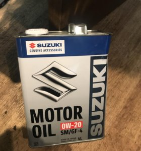 Масло 0w-20 Suzuki
