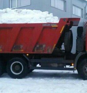 Вывоз уборка снега
