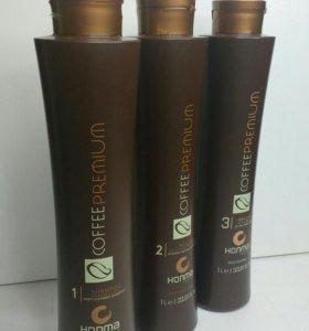 Кератин для волос Coffee Premium all Liss