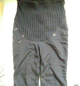 Беременные штаны. Очень теплые.