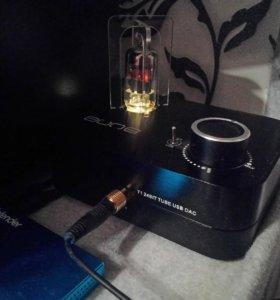 Ламповый усилитель для наушников, USB-ЦАП