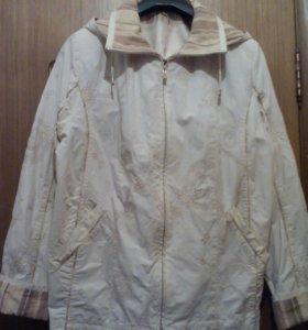 Куртка для весны (ветровка)почти новая