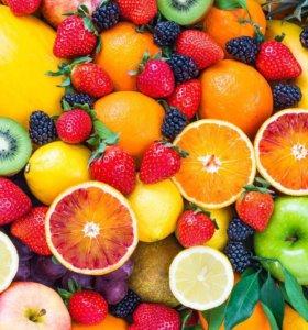 Фрукты , овощи и все продукты питания