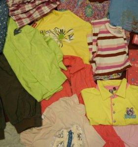 Пакет вещей для девочки 134-140р-р 16 вещей!